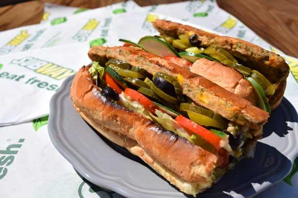 Subway Vegan Options