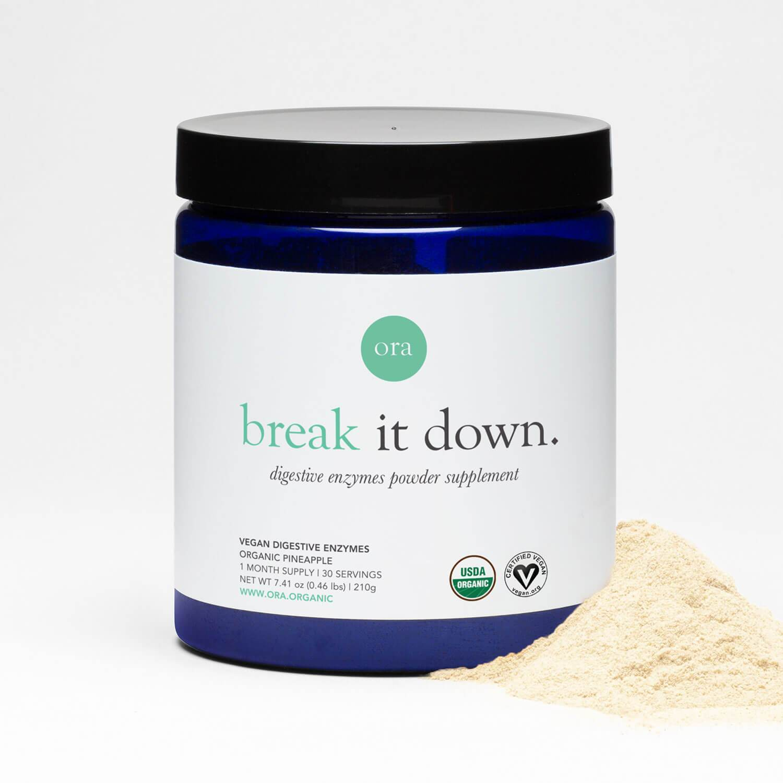 Ora Organic Vegan Digestive Enzymes Supplement Review